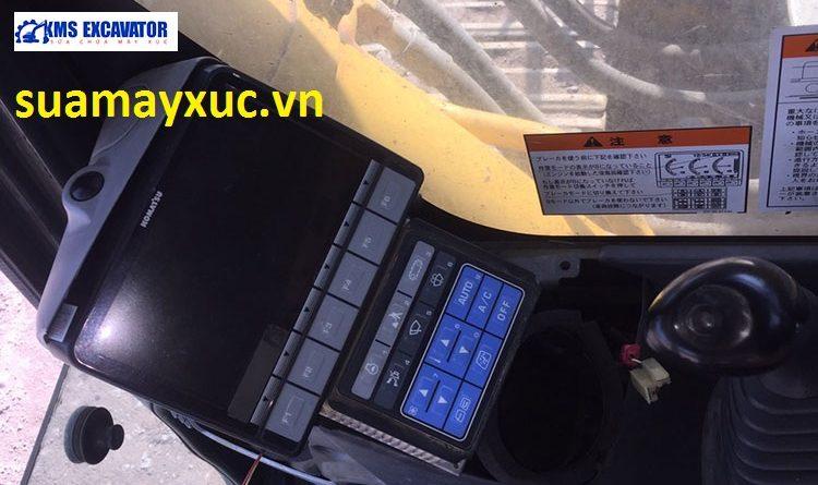 Lắp đặt xong bảng taplo máy xúc komatsu pc350-8
