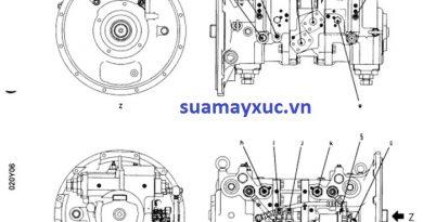 Sửa chữa máy công trình – Tài liệu PC200-6E