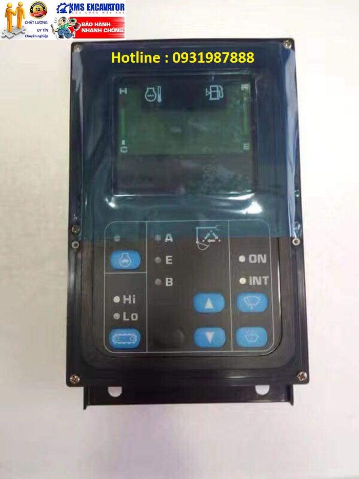 Màn hình máy xúc Komatsu PC200-7 mới ít nút