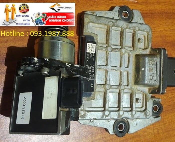 Hộp đen máy xúc Doosan DX55 chính hãng mới và bãi