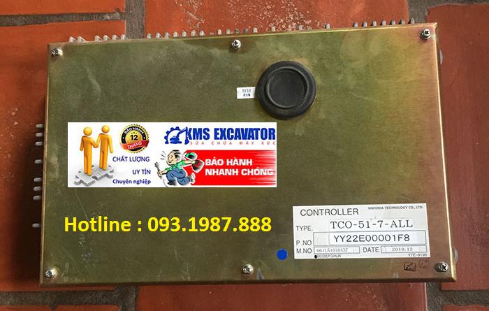 Hộp đen máy xúc Kobelco SK135SR-1E bãi