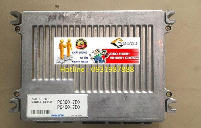 Hộp đen máy xúc Komatsu PC300-7EO bãi và mới