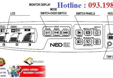 Sửa chữa máy xúc – HD sử dụng taplo Sumitomo SH290