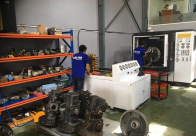 Bơm thủy lực máy xúc Hitachi – Sửa chữa máy xúc