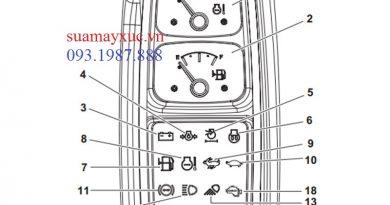 Màn hình máy xúc Doosan DX55W – Sửa chữa máy xúc