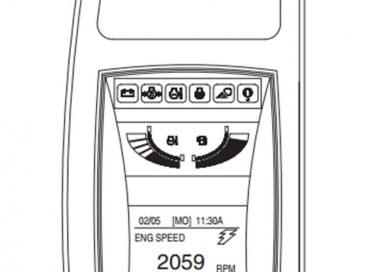 Mã lỗi trên Taplo máy xúc Doosan 210W-V